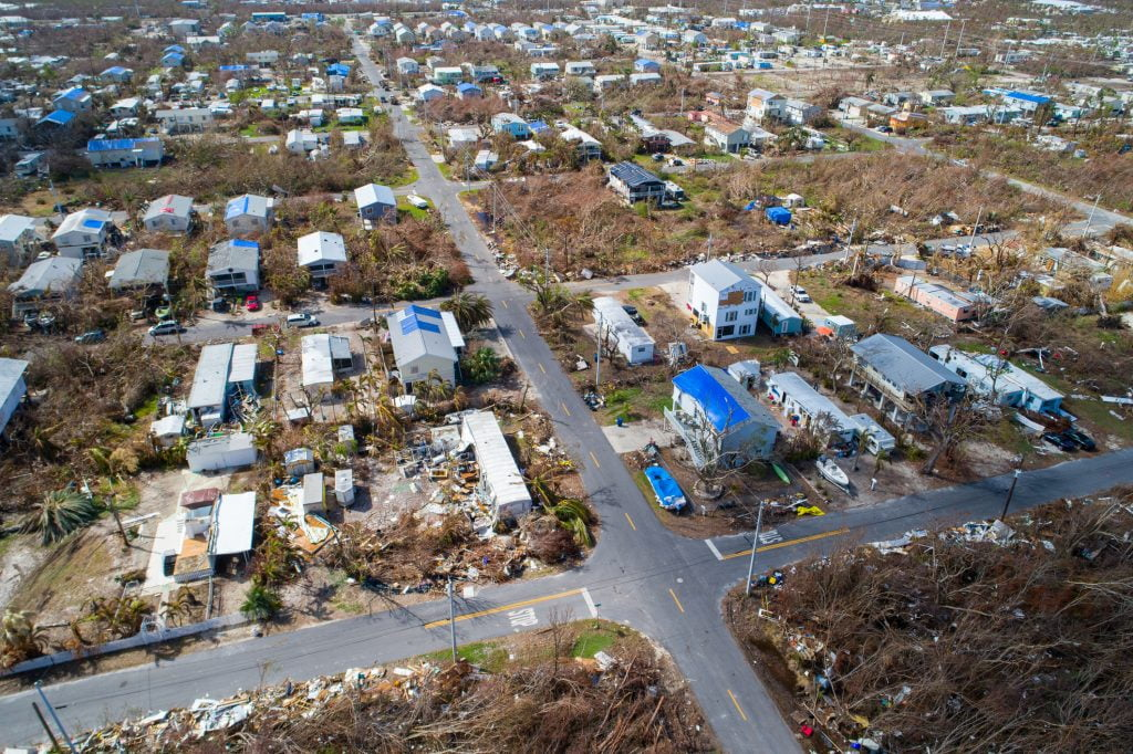 What are SBA disaster loans?